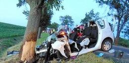 Tragiczny wypadek pod Nysą. Kierowca nie żyje