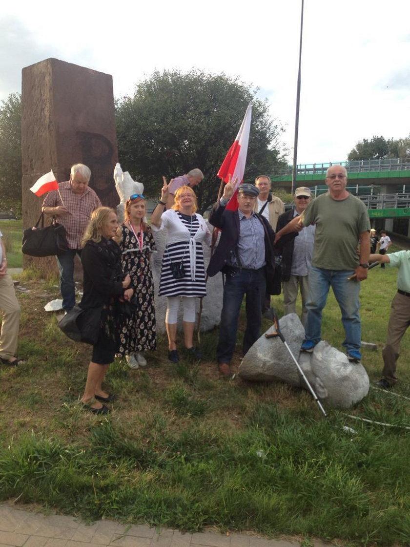 Pomnik gen. Berlinga został obalony