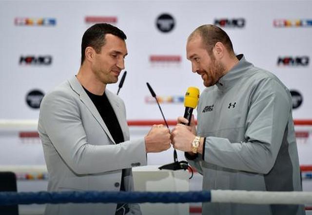 Vladimir Kličko i Tajson Fjuri
