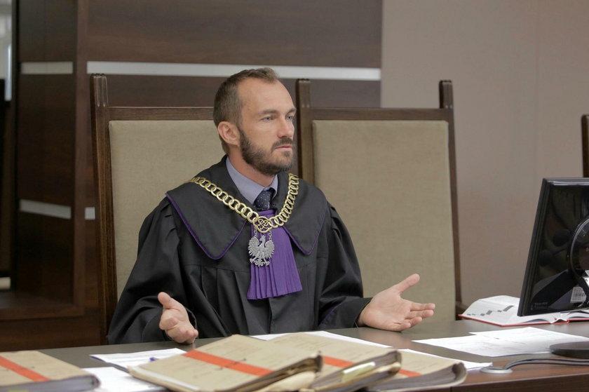 Sędzia Mateusz Świst (41 l.)
