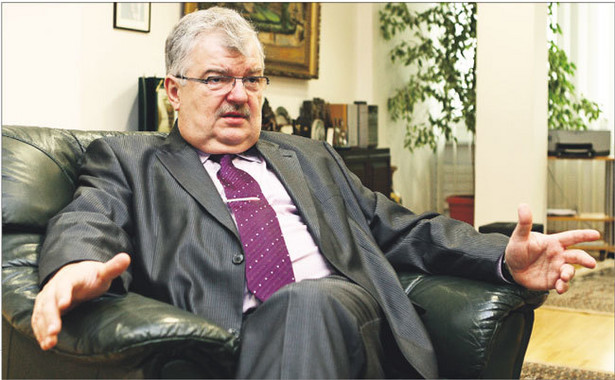 Jacek Bartkiewicz, prezes Banku BGŻ Fot.Wojciech Górski