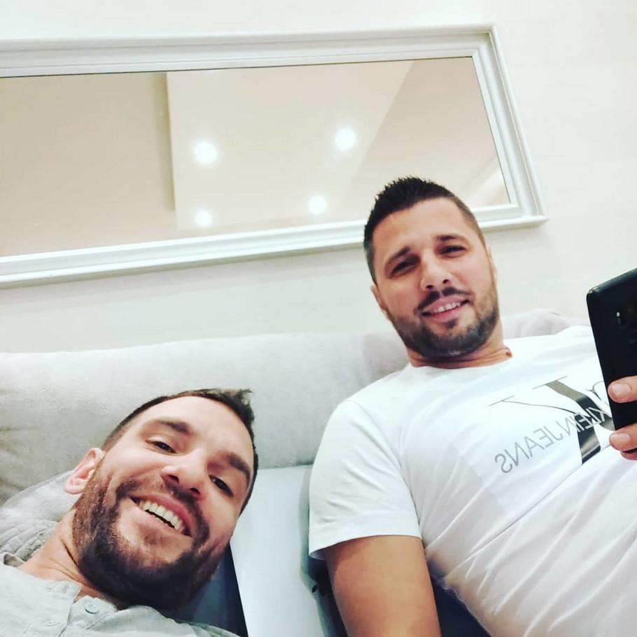Andrej Atijas i Marko Miljković