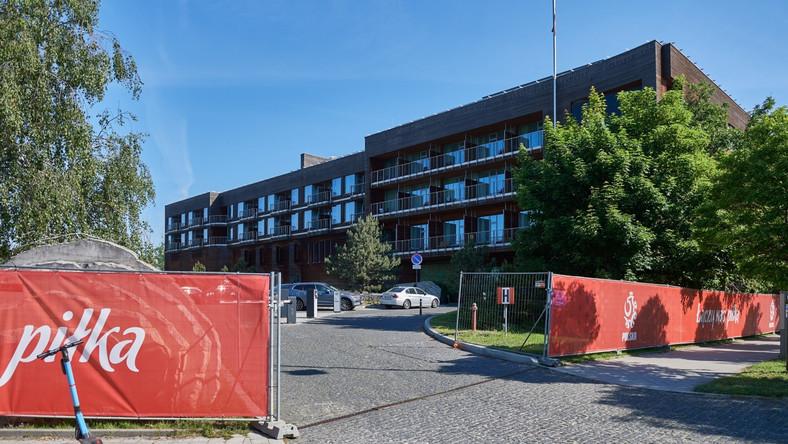 Piłkarze reprezentacji Polski pojawili się w sopockim Hotelu Marriott Resort&Spa, który będzie ich bazą w trakcie mistrzostw Europy