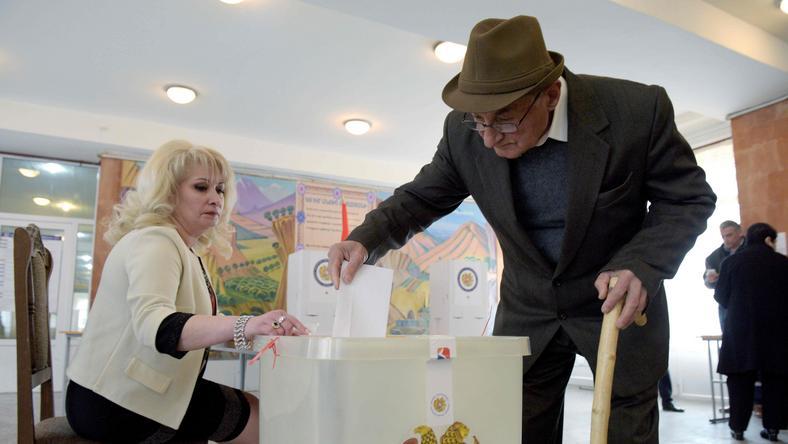 Wybory w Armenii