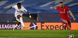 Liga Mistrzów: Real Madryt pokonał Liverpool w pierwszym meczu 1/4 finału