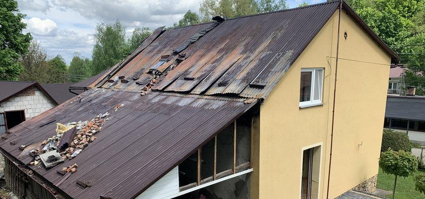 Rozpacz pani Doroty: psychopata spalił mi dom