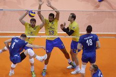 Odbojkaška reprezentacija Srbije, Odbojkaška reprezentacija Brazila