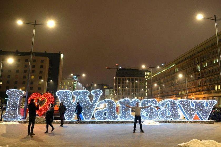 Jak wam się podoba nowa dekoracja w Warszawie?