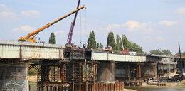 Wypadek na moście Łazienkowskim