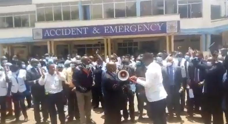Kenyatta National Hospital workers issue one-week strike notice
