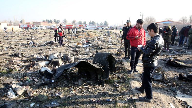 Ukraiński samolot rozbił się po starcie