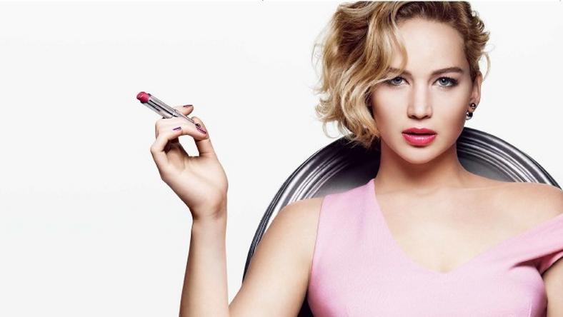 Jennifer Lawrence for Dior Addict lipstick