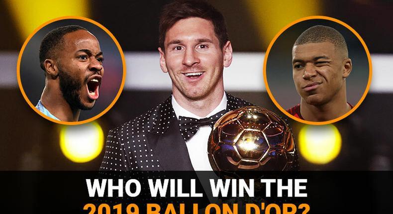 Who will win the 2019 Ballon d'Or?