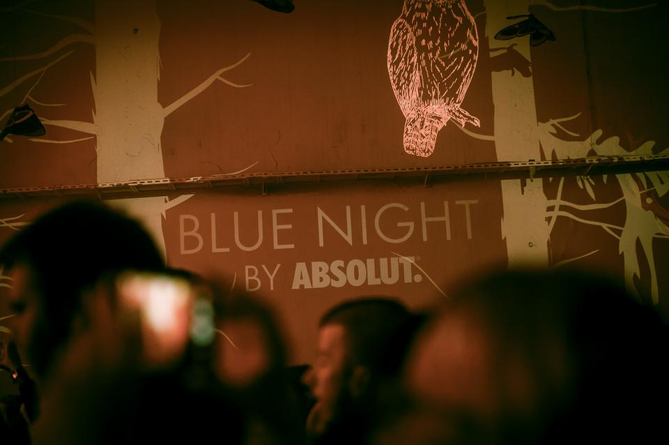 Blue Night By Absolut