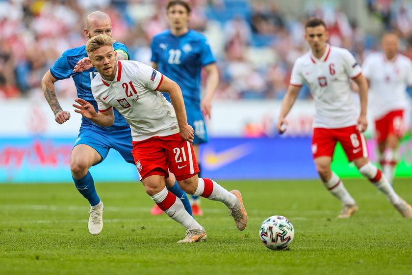 Kamil Jóźwiak (23 l.). Wartość 4 mln euro. Wiele wnosi do gry kadry.