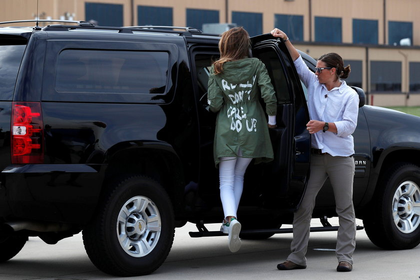 Wpadka Melanii Trump. W tym pojechała do dzieci imigrantów