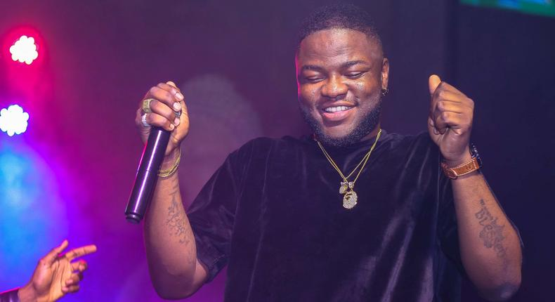 Skales, performing at the Industry Night.