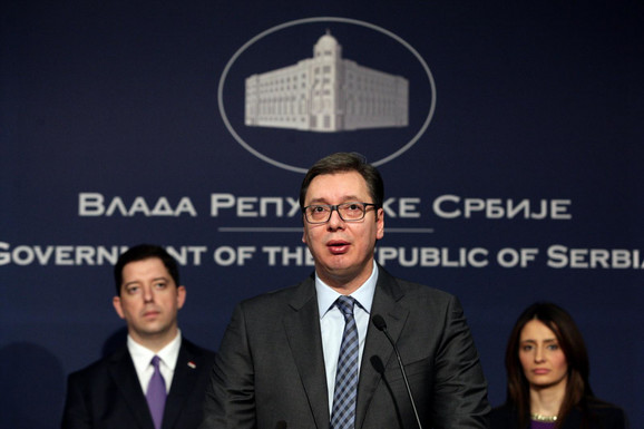 Aleksandar Vučić na današnjoj pres konfereniji