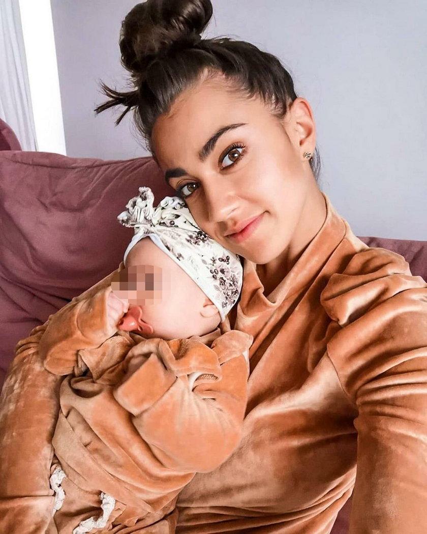 Maja Hyży z córką