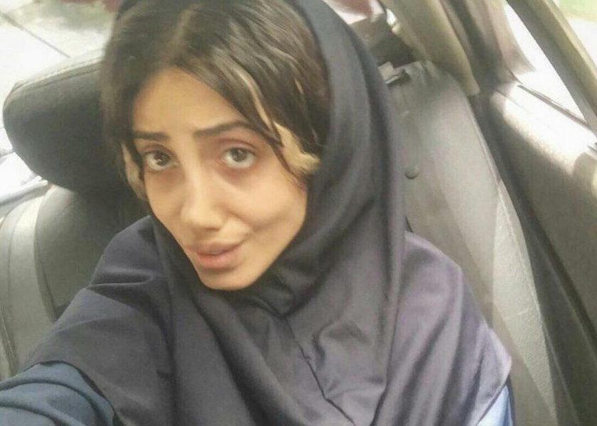 Nazwano ją irańską Jolie. Trafiła do aresztu