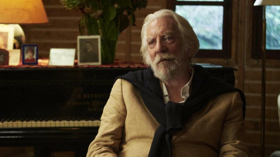 """Donald Sutherland w filmie """"Obraz pożądania"""""""
