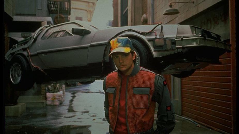 """""""Powrót do przyszłości 2"""" - kadr z filmu"""