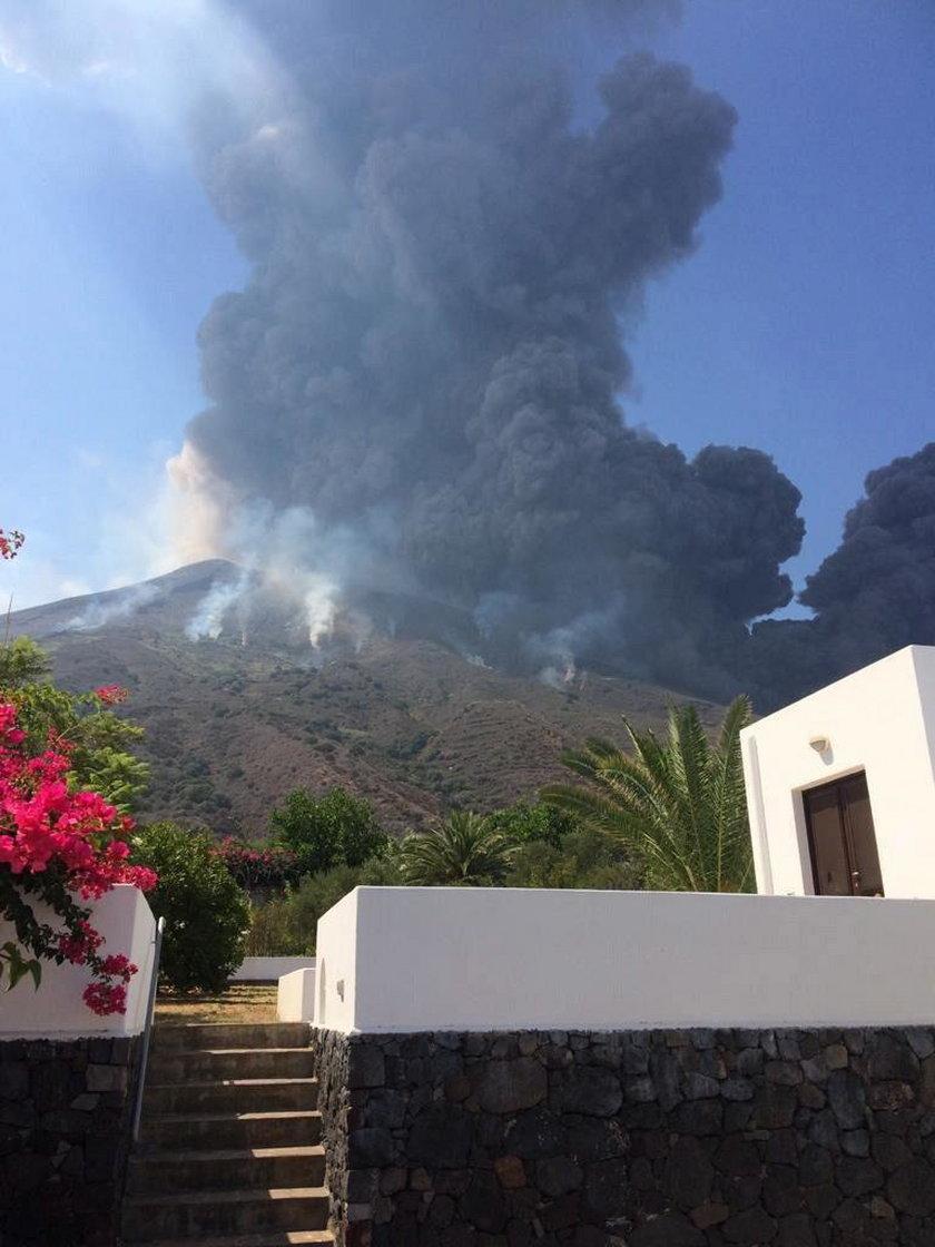 Włochy: wybuch wulkanu Stromboli. Ludzie uciekali w panice