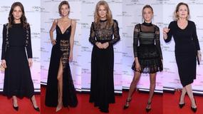Piękne kobiety na jubileuszu współpracy L'Oreal z Cannes