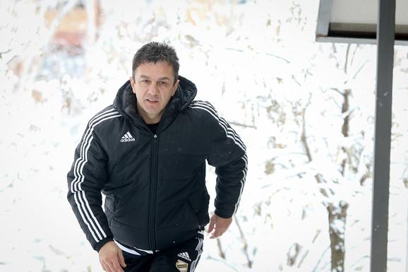 Simo Krunić trener Čukaričkog