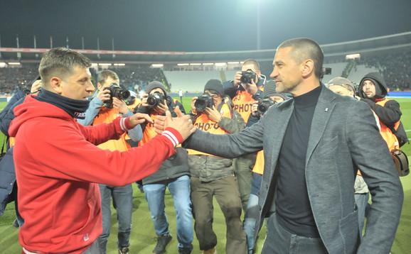 Zoran Bata Mirković i Vladan Milojević