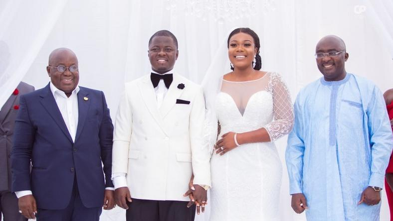 NPP Deputy Communications Director Kofi Agyepong Wedding Ceremony