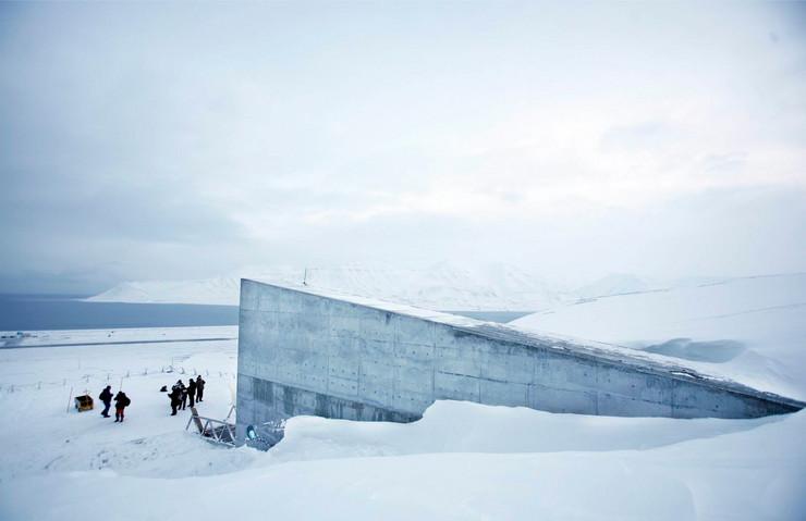 tajna mesta01 Svalbard Global Seed Vault foto Tanjug AP
