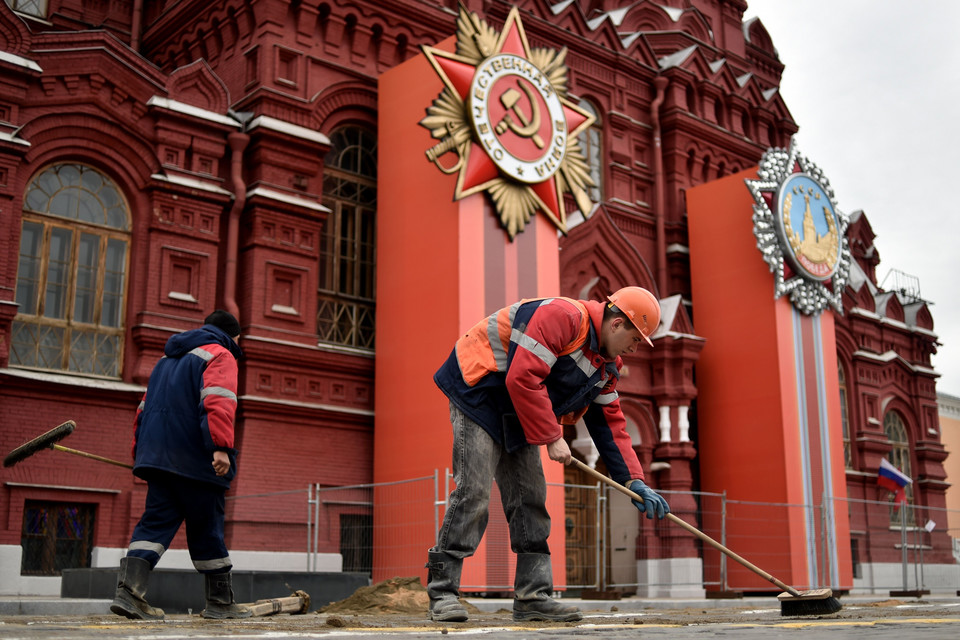 RUSSIA-HISTORY-WWII-VICTORY-DAY-PREPARATION