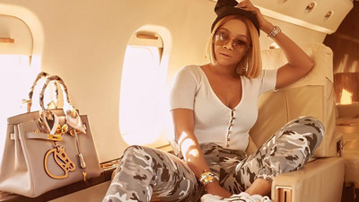 Toke Makinwa says she's tired of being an independent woman