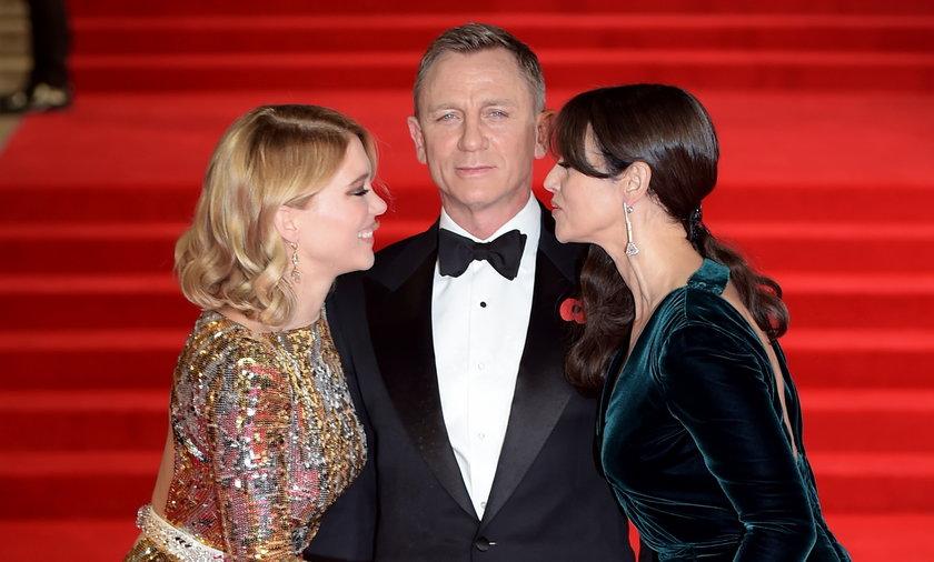 Daniel Craig, Monica Bellucci  i Lea Seydoux