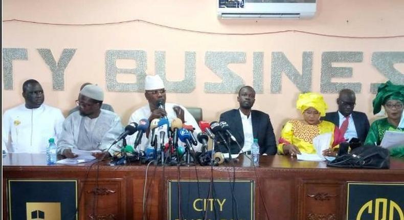 Conférence de presse de l'opposition, le jeudi 24 juin, à Dakar