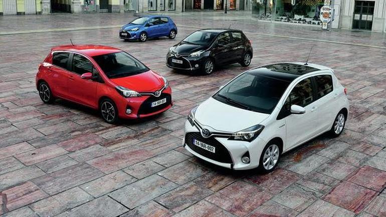 Toyota: wyprzedaż rocznika 2015