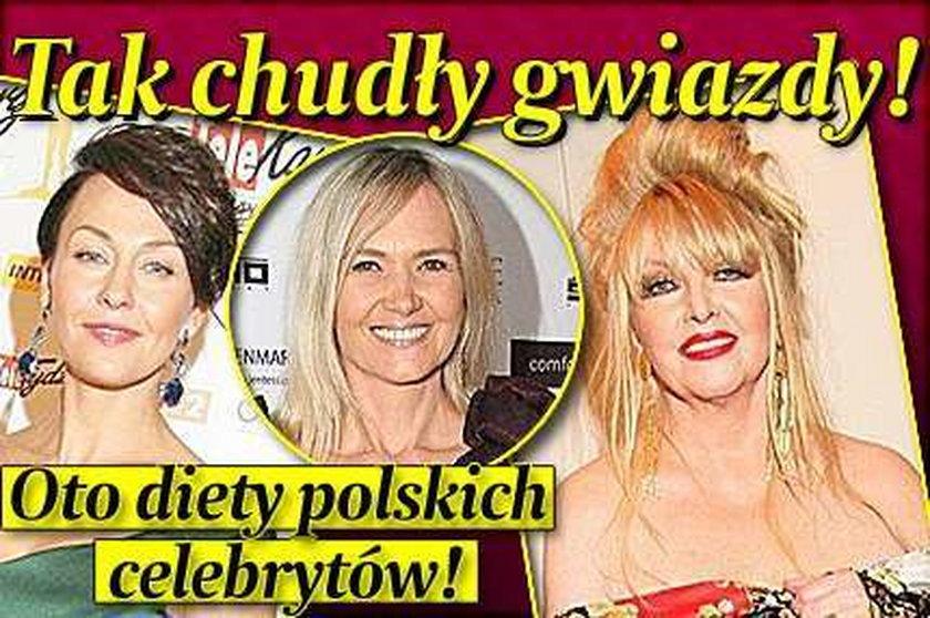 Tak chudły gwiazdy! Diety polskich celebrytów!