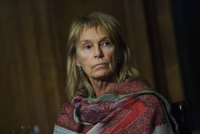 Małgorzata Braunek w styczniu 2013 roku