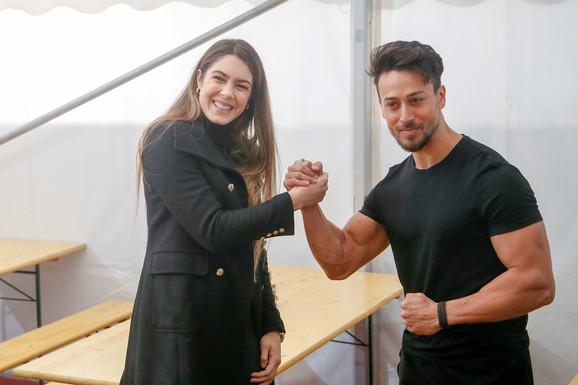Milica Mandić i Tiger Šrof