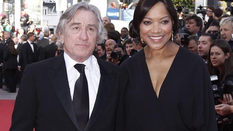 Robert De Niro z żoną Grace Hightower w Cannes