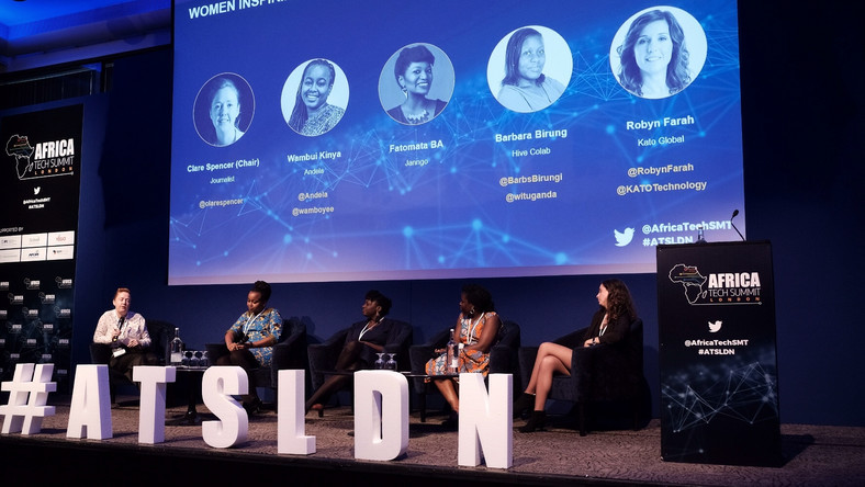 A cross section of panelists at the Africa Tech Summit London