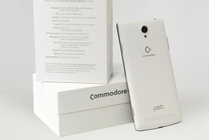 commodore smartfon