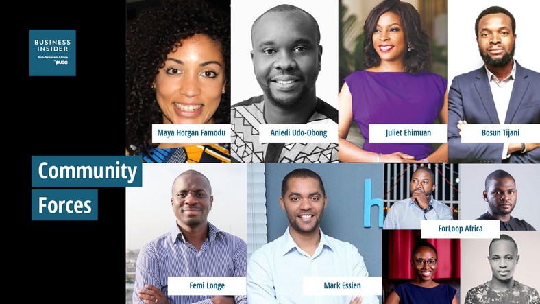 The 20 Most Important People in Nigerian Tech - Community Forces