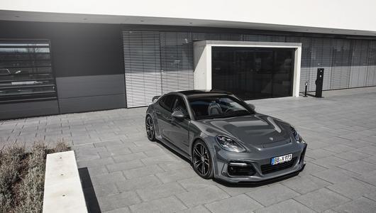 Porsche Panamera GrandGT - stylistyka TechArt