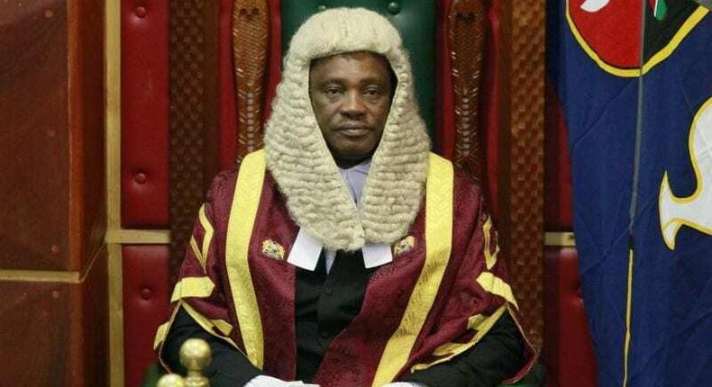 National Assembly Speaker Justin Bedan Njoka Muturi