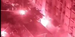 Kibole Dinama zaatakowali fanów Legii. Na ulicach Zagrzebia zrobiła się zadyma. [WIDEO]