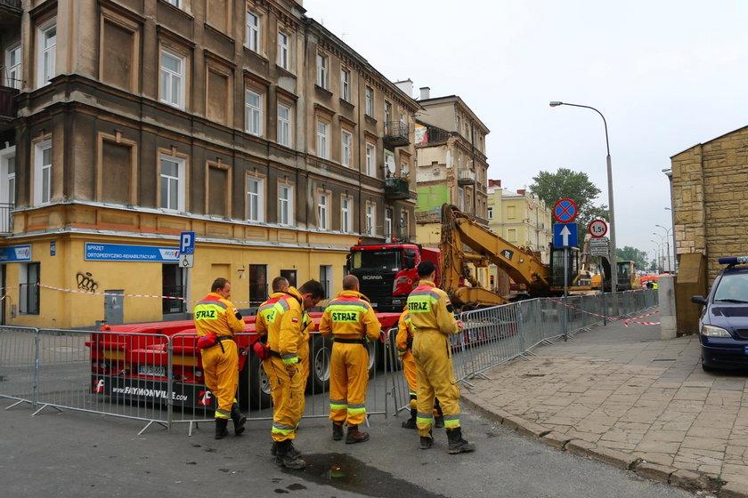 Katastrofa budowlana przy ul. Lubartowskiej
