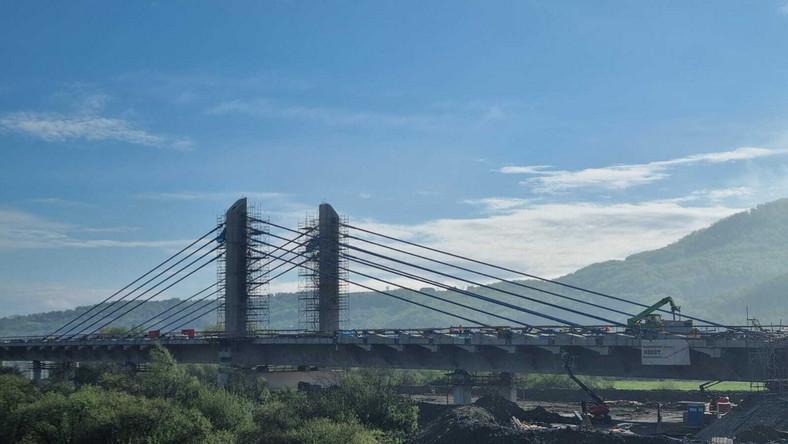 Most na Dunajcu - trzeci pod względem wielkości tego typu w Polsce