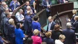 Sejm debatuje. Posłowie się kłócą